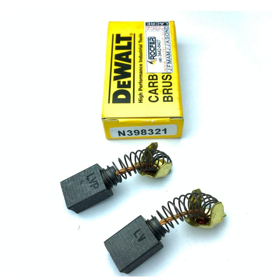 Escova de Carvão P/ Lixadeira  DWP849X Politriz 127V Dewalt N398321