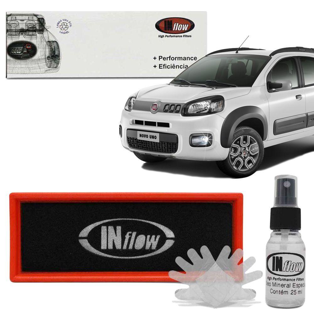 Filtro Inflow Novo Uno,mobi,punto,palio,siena,500 Hpf3550