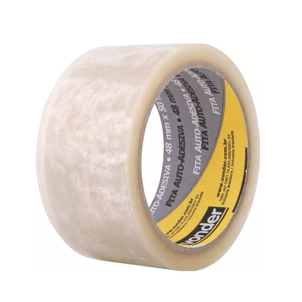 Fita Adesiva Qualitape 1011034850 P/ Embalagem 48x100 Vonder