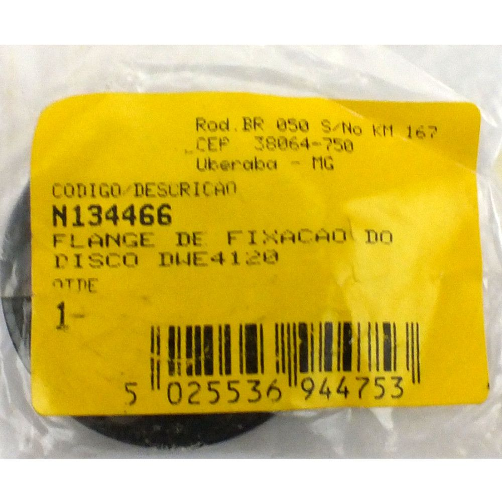 Flange Fixaçao DeWALT P/ Esmerilhadeira DWE4020 - N134466