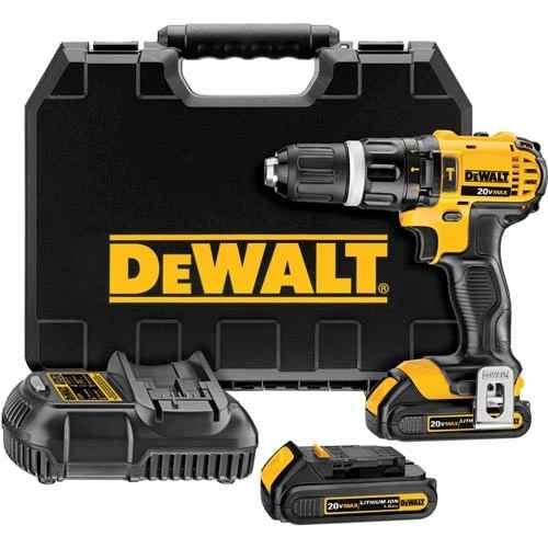 Furadeira e Parafusadeira de Impacto 2 Baterias 220V Dewalt Dcd785c2