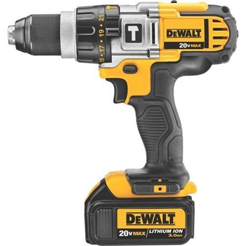 """Furadeira / Parafusadeira 1/2"""" à bateria de 20 volts com 2 baterias - DCD985L2-B2 Dewalt 220V"""