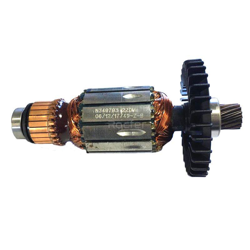 Induzido Rotor 220V p/ Serra Mármore DW862 Tipo 10 Dewalt N424549