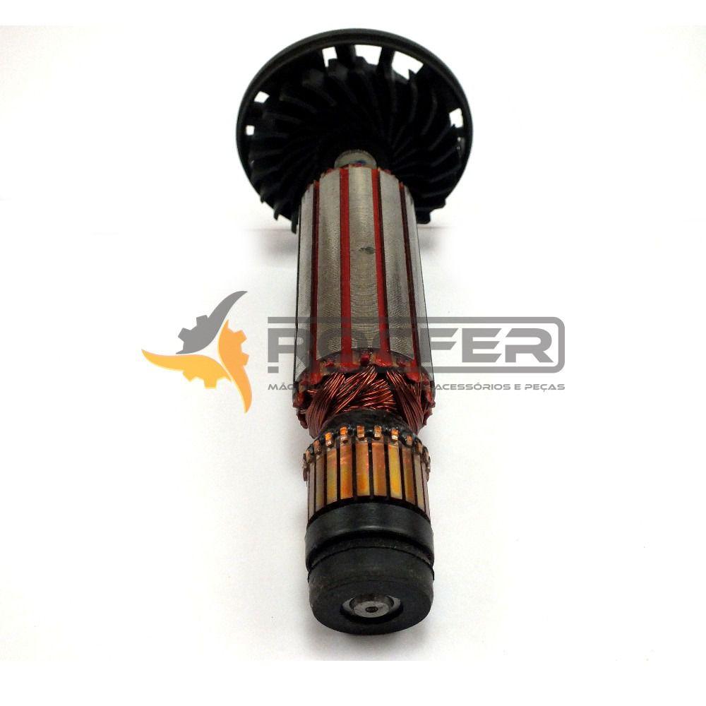 Induzido Rotor 220V para Esmerilhadeira DWE4020 Tipo 10 - Dewalt N217332 Com Rolamento