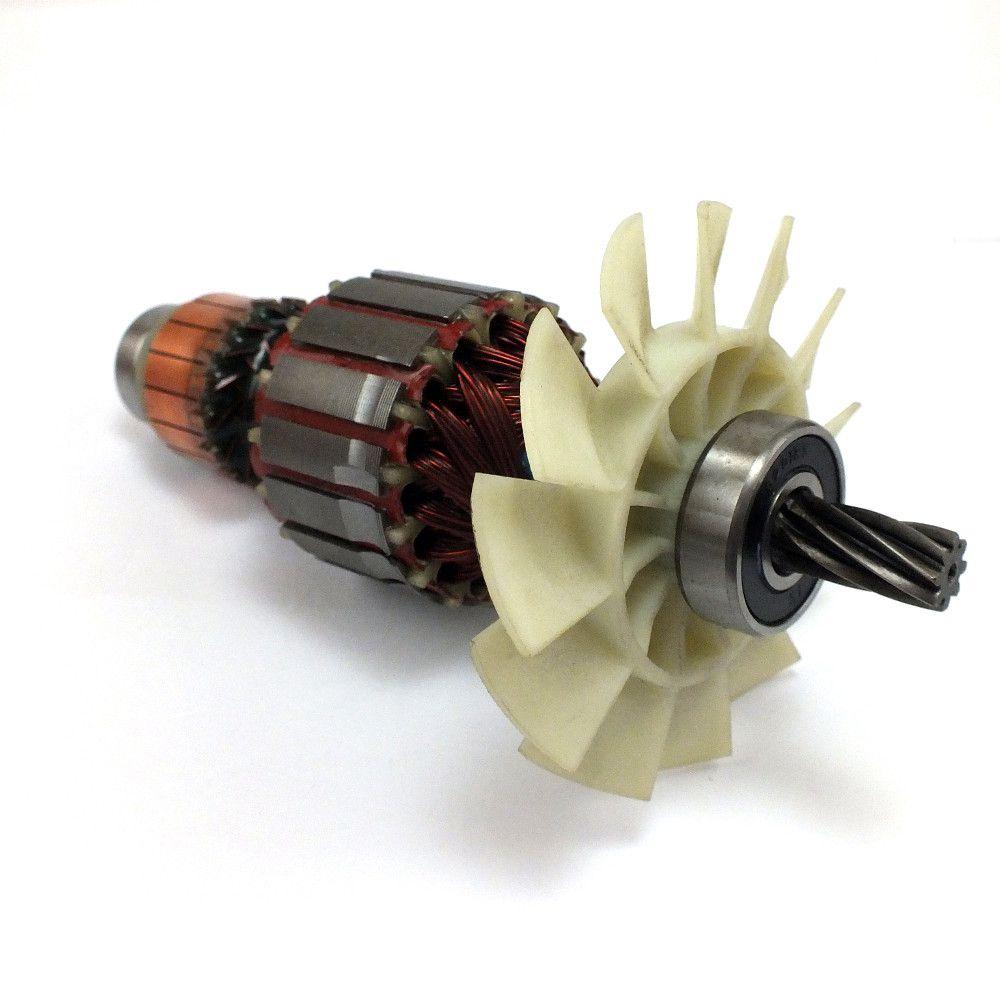 Induzido Rotor p/ Serra CS1030L Tipo 1 5140036-96 127V Black Decker