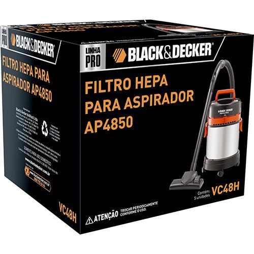 Kit Acessório AP4850, 1 Filtro Hepa Black+Decker