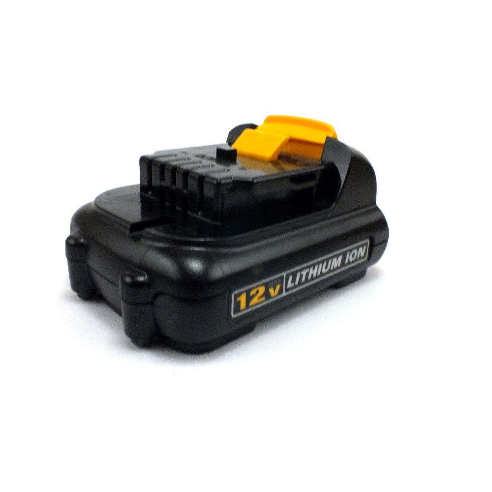 Kit Carregador Bateria Íon de Lítio 12V / 20V Bivolt DCB107 + 2 Baterias 12v N365394