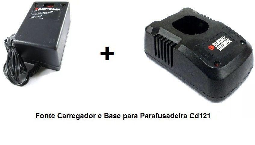 Kit para Parafusadeira CD121 Tipo 3 e Tipo 4 Black e Decker