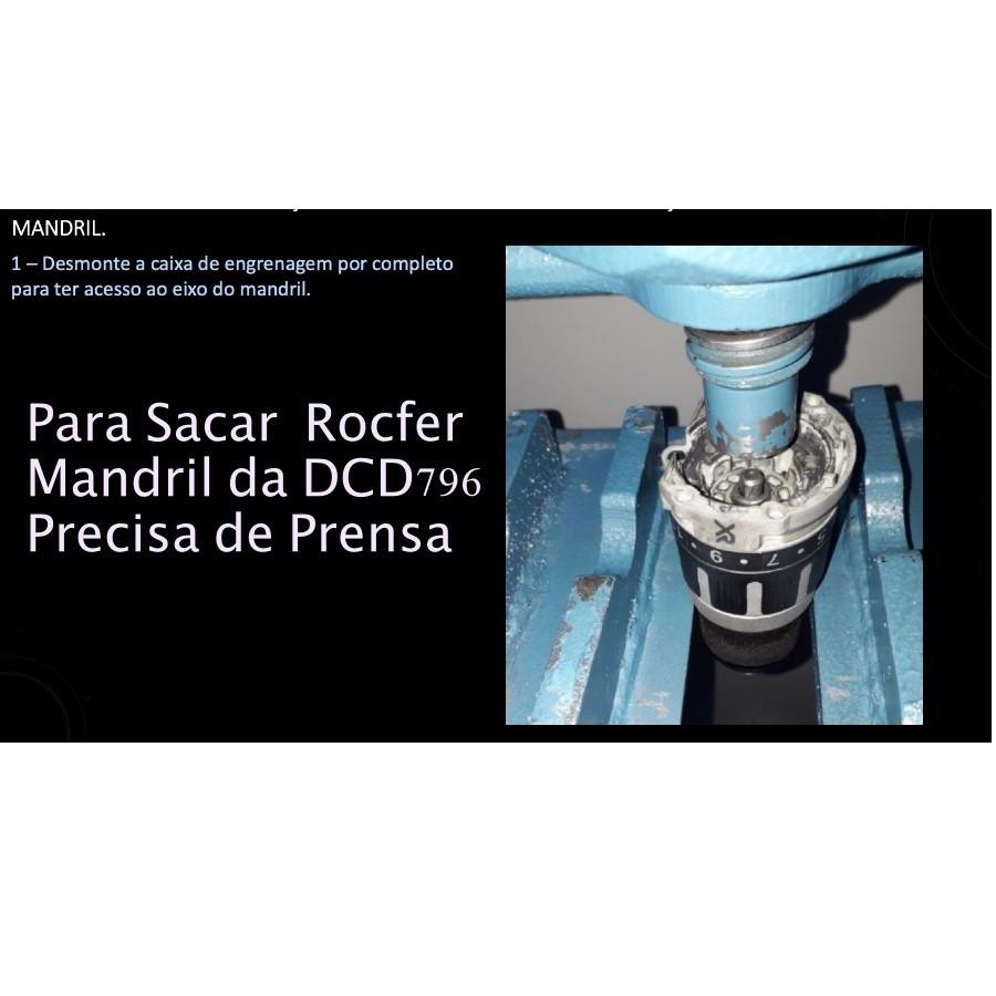 Mandril para Parafusadeira DCD796 Dewalt N442695