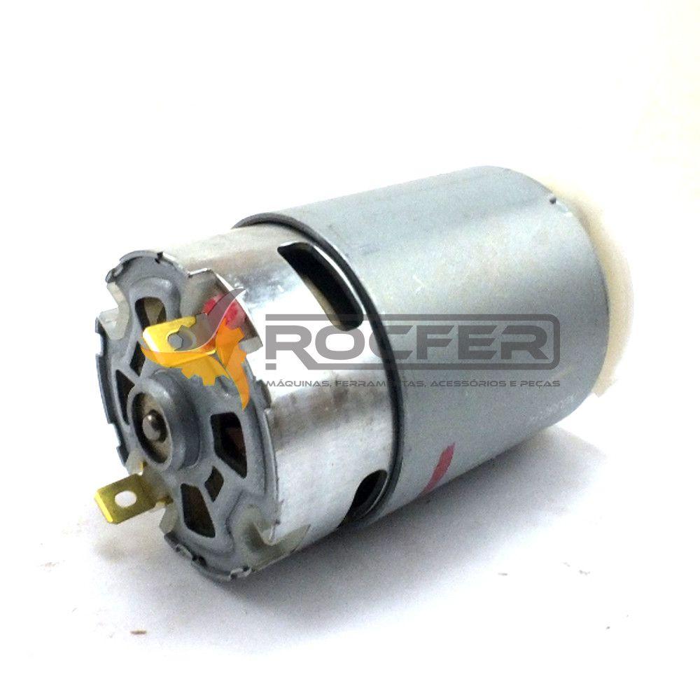 Motor 12v C/ Pinhão P/ Parafusadeira Dcd710 Dcd700 Dewalt KIT Com 3 unidades N075847