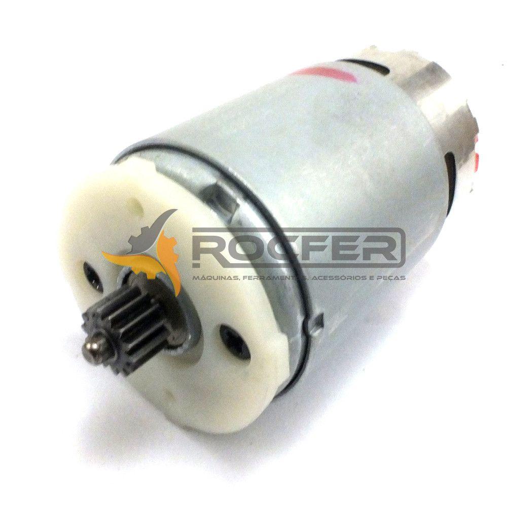Motor 12v C/ Pinhão P/ Parafusadeira Dcd710 Dcd700 Dewalt KIT Com 4 unidades N075847