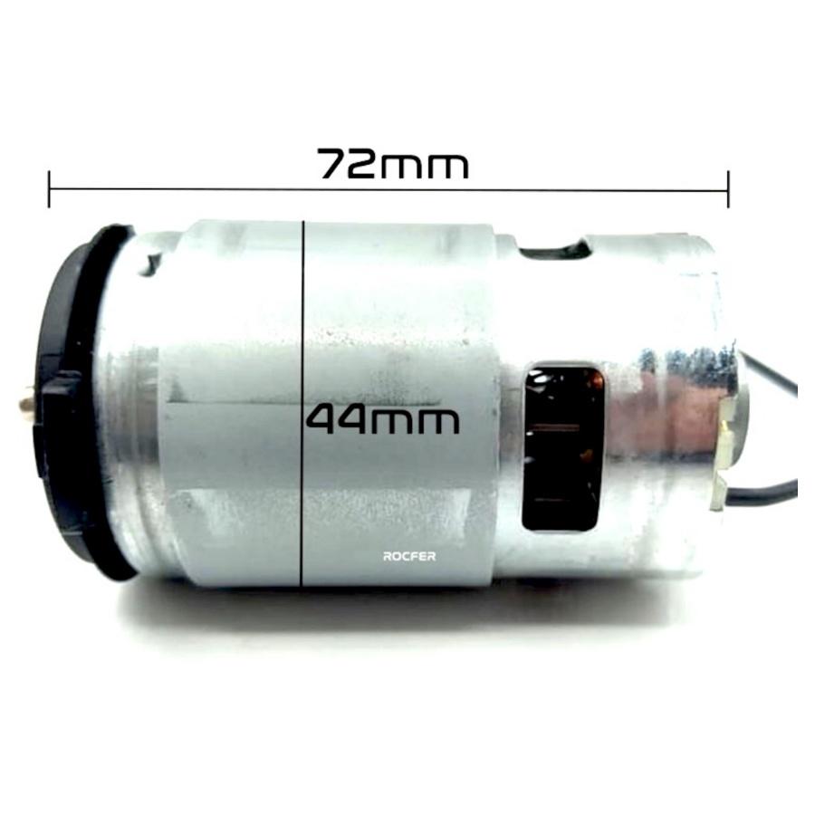 Motor 12v c/ Pinhão p/ Parafusadeira Dwc712 Dc740 Dewalt 631445-00