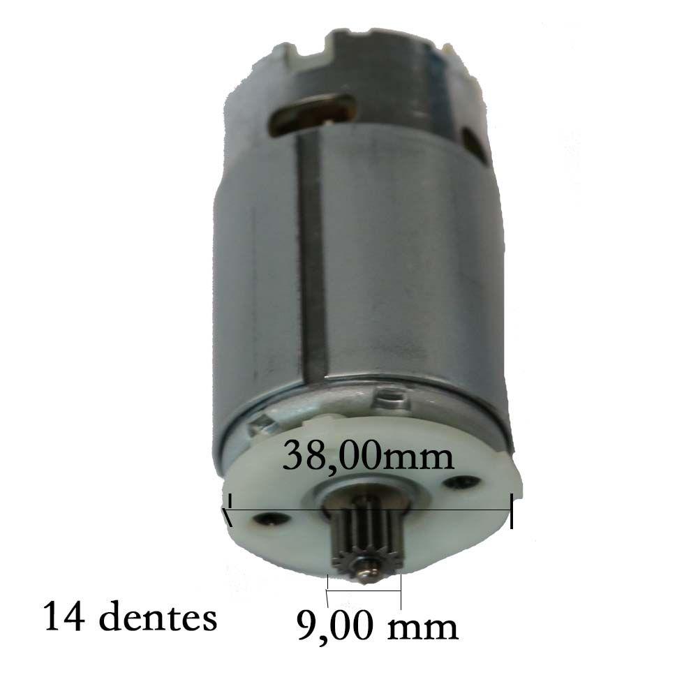 Motor C/ Pinhão 12v P/ Parafusadeira/Furad. DCD710 DeWALT N075847