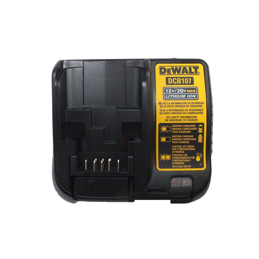 """Parafusadeira Furadeira de impacto 3/8"""" à bateria 12 volts  DCD716D2 Dewalt Bivolt"""