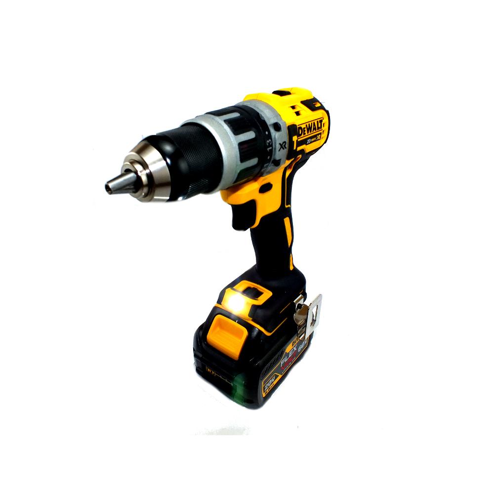 Parafusadeira Impacto 1/2´´ 20V Íon-Lítio Brushless DCD796 1 Bateria Dewalt + 1 bateria FLEXVOLT