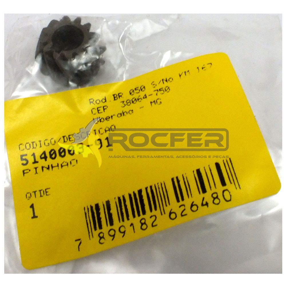 Pinhão P/ Esmerilhadeira G720 Black e Decker 5140003-91