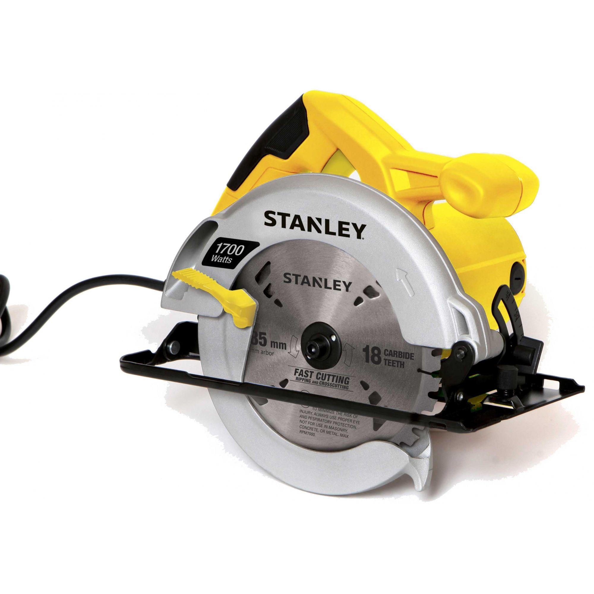 """Serra Circular 7. 1/4"""" 1700W Stsc1718-B2 Stanley - 220V"""