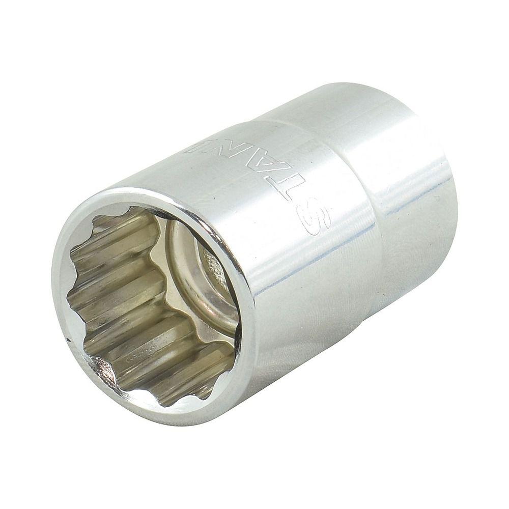 """Soquete Estriado de 1/2"""" - 17mm Stanley 4-88-789"""