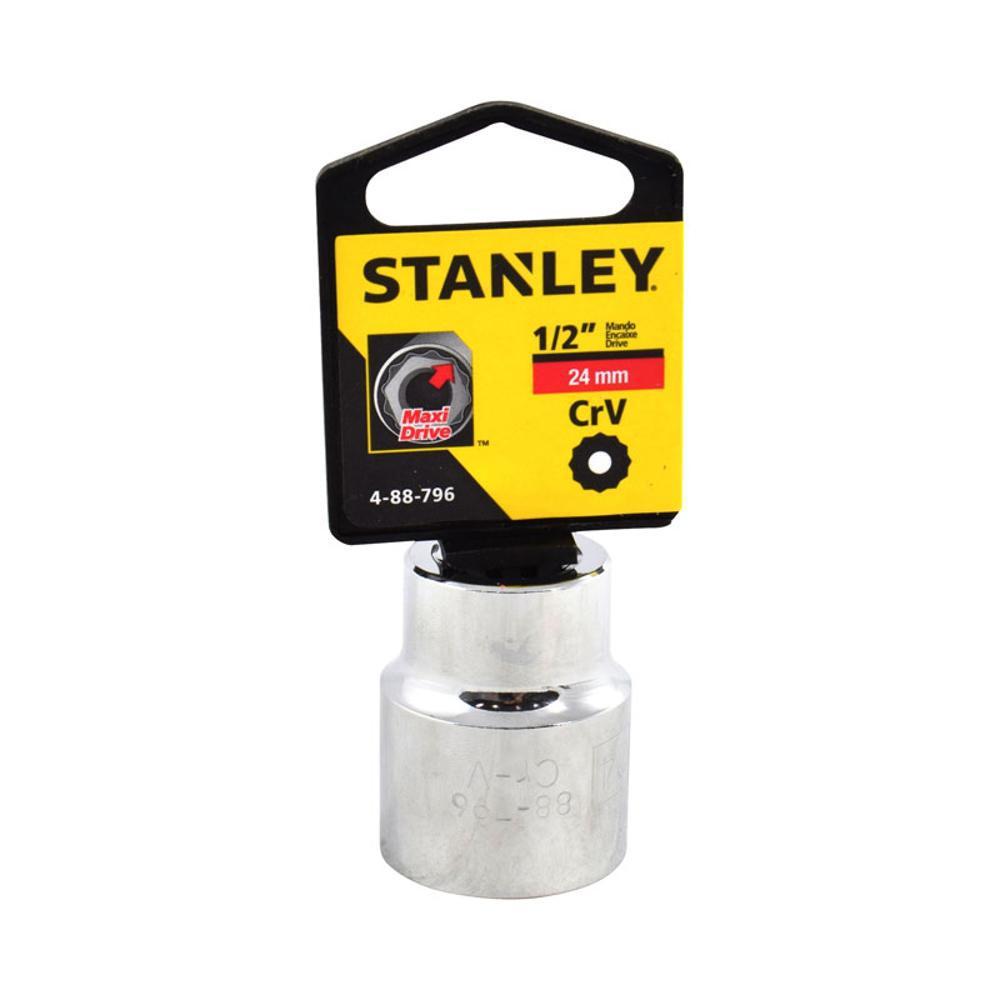 """Soquete Estriado de 1/2"""" - 24mm Stanley 4-88-796"""