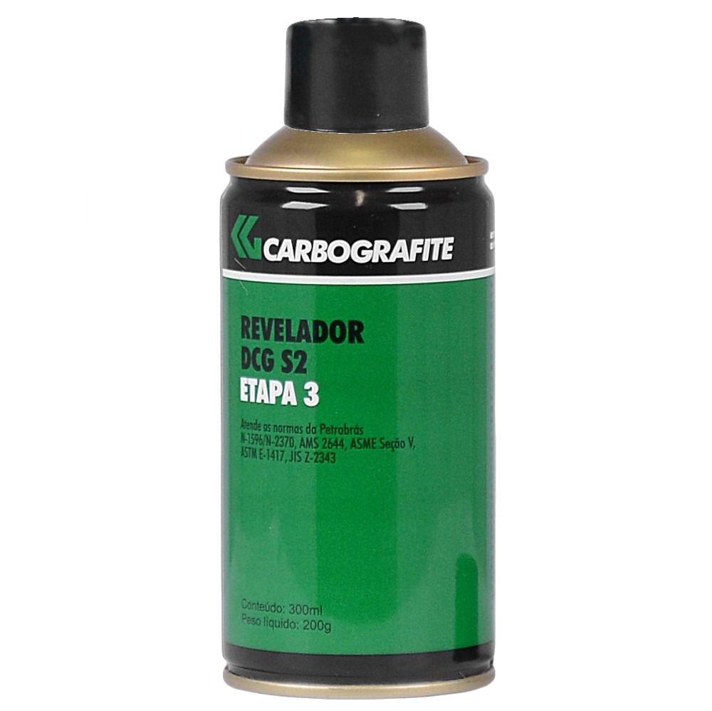 Spray Revelador Para Trincas Dcg S2 Carbografite Etapa 3