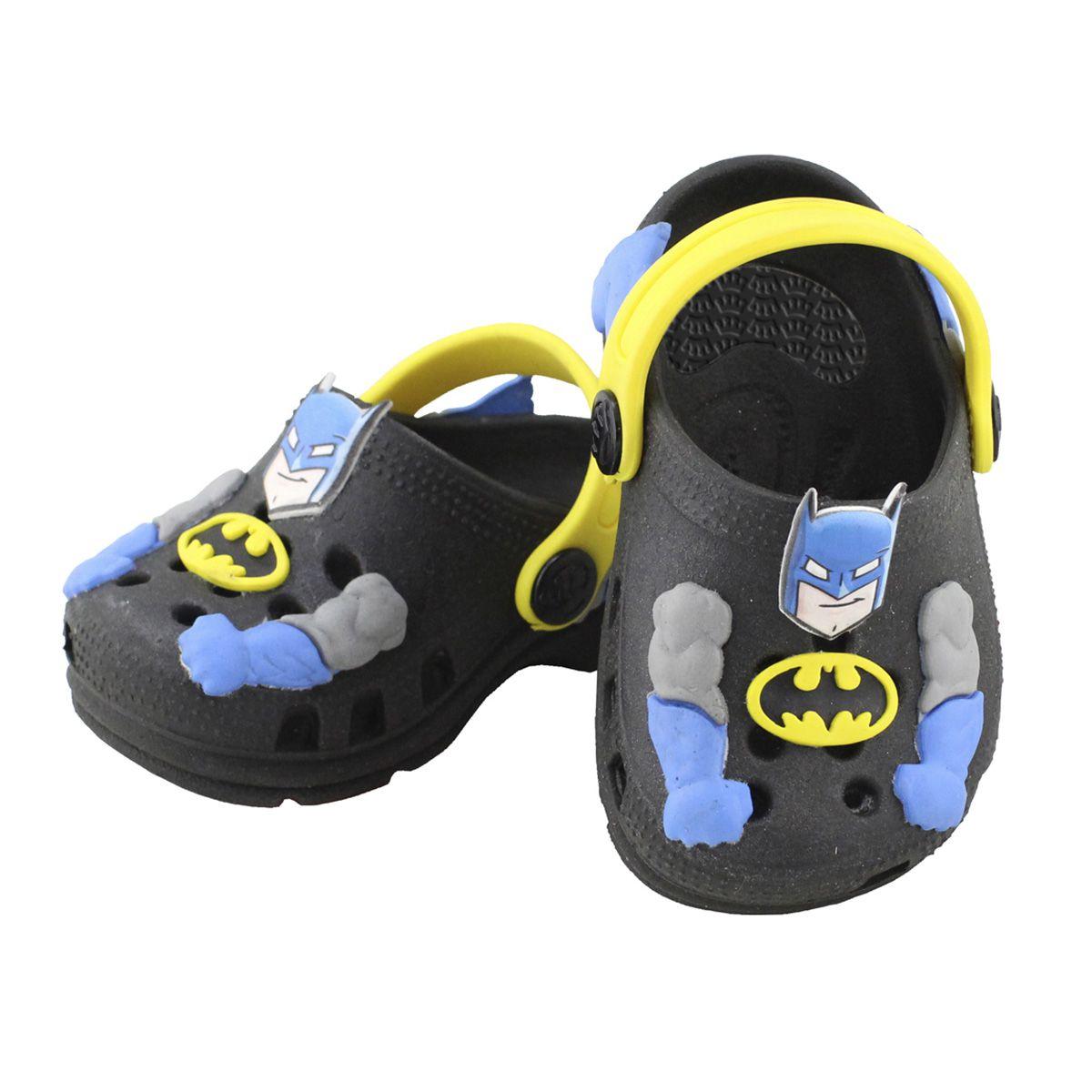 Babuche Baby Batman Infantil