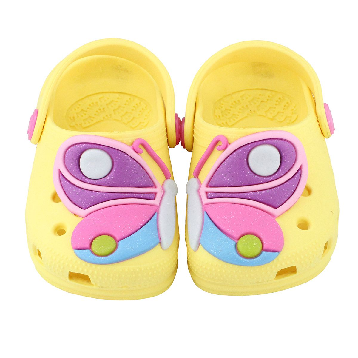 Babuche Baby Borboleta Amarelo