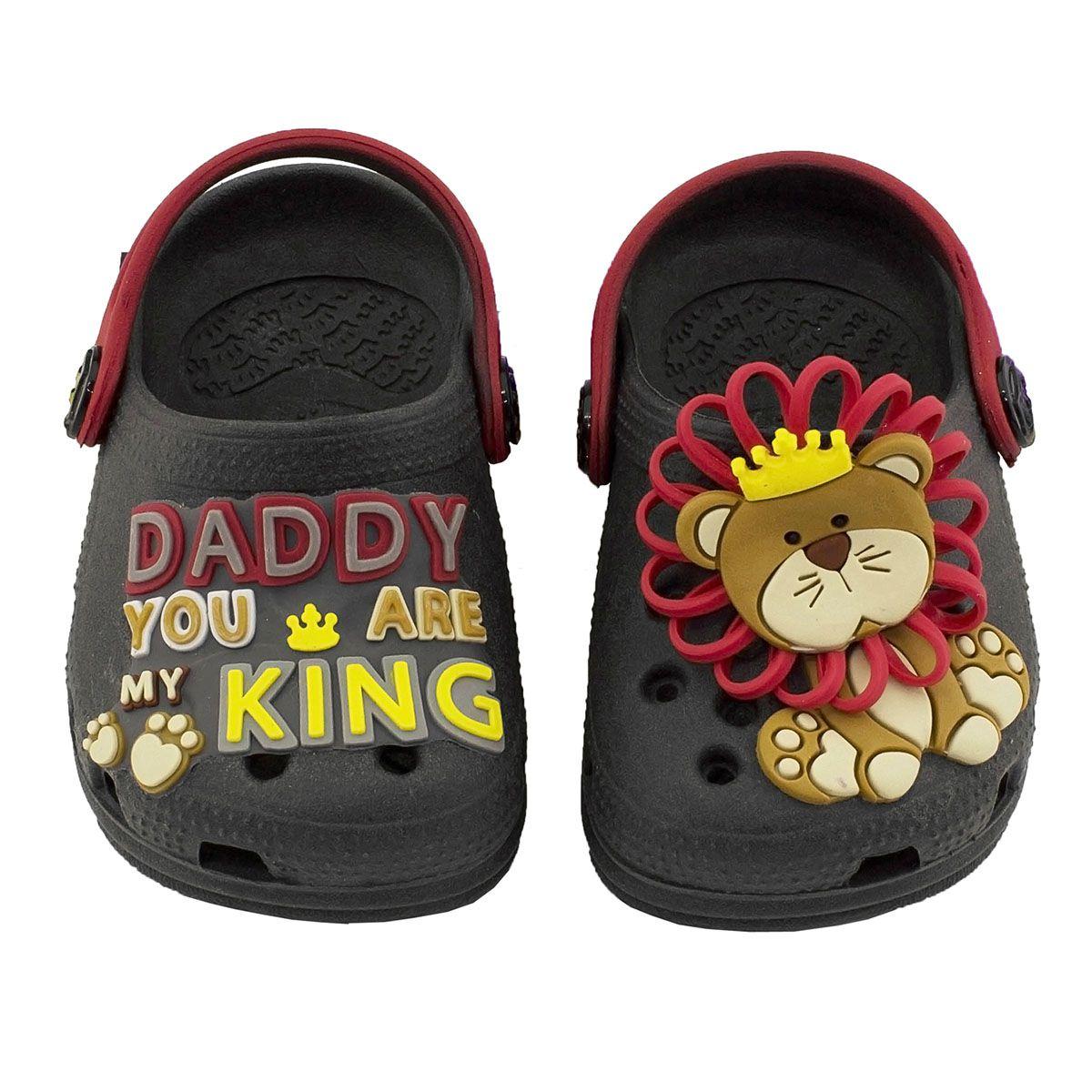 Babuche Baby King Infantil