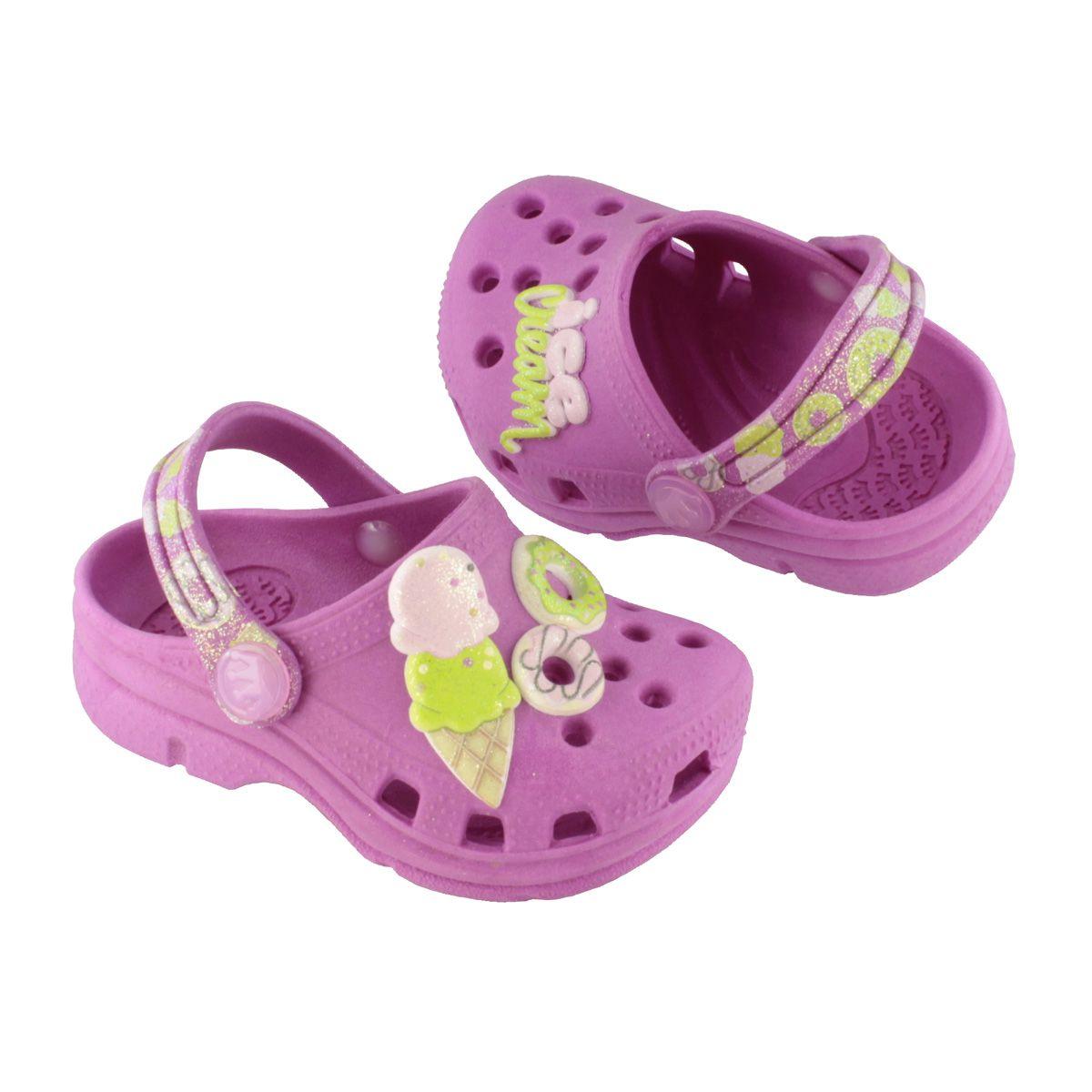 Babuche Baby Sorvete Pink