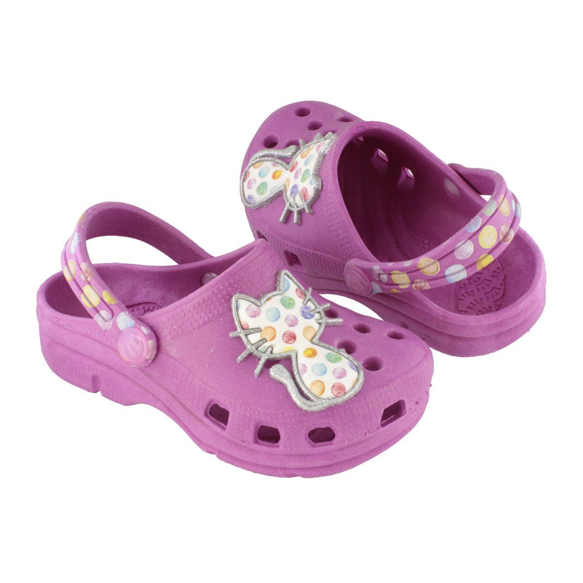 Babuche Kids Gata Pink Infantil