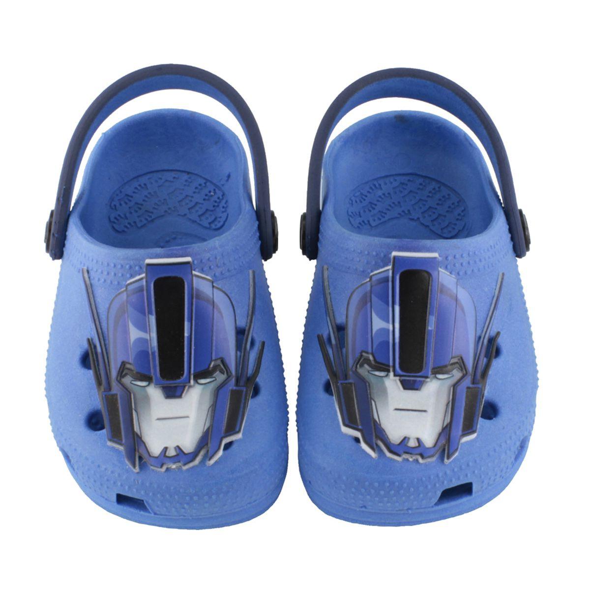 Babuche Kids Transformers Optimus Prime Azul Infantil