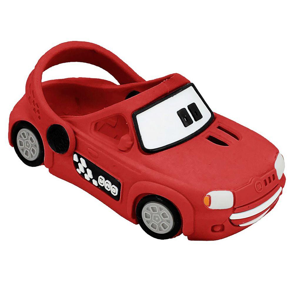 Babuche Plugt Carro Uno Vermelho