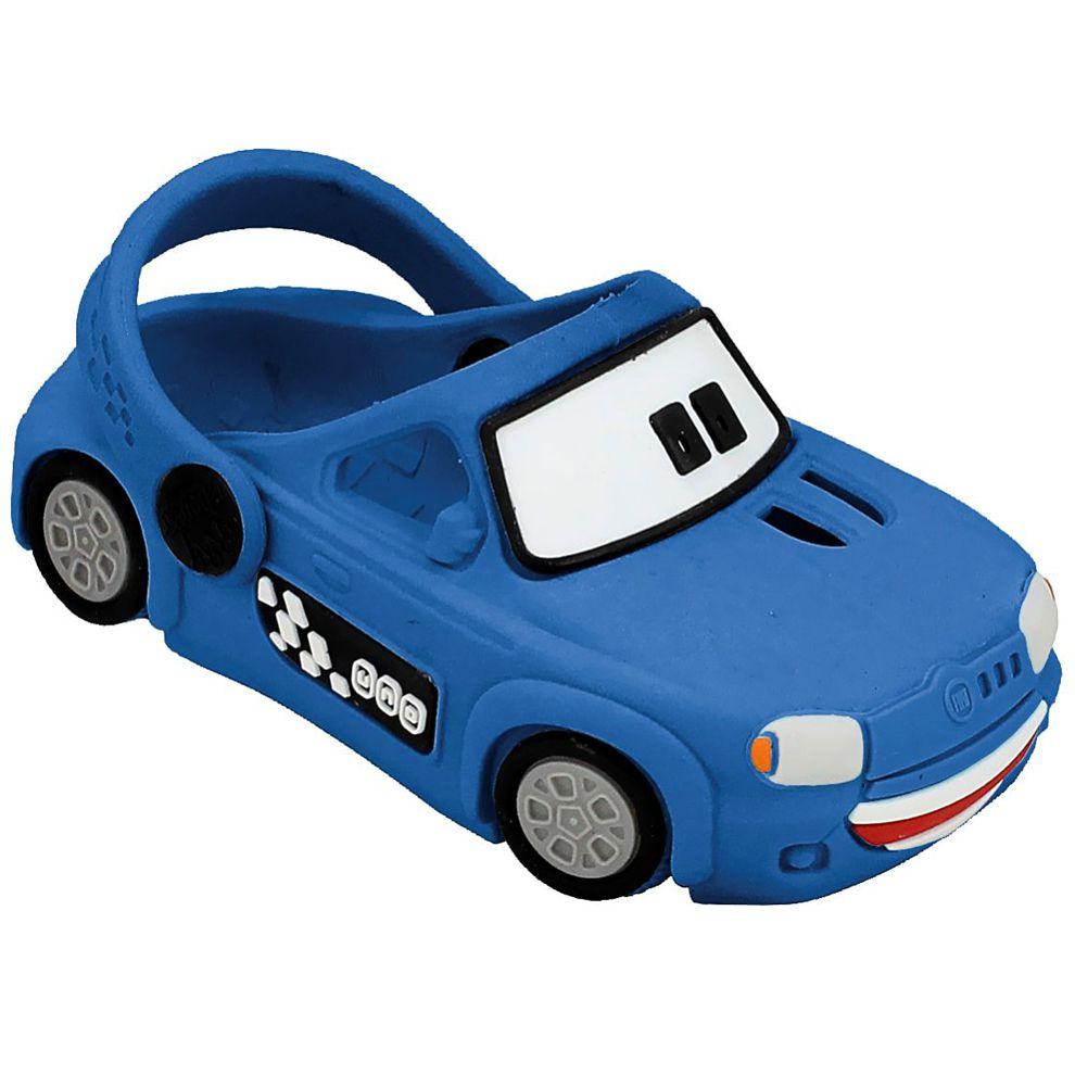 Babuche Plugt Carro Uno Azul
