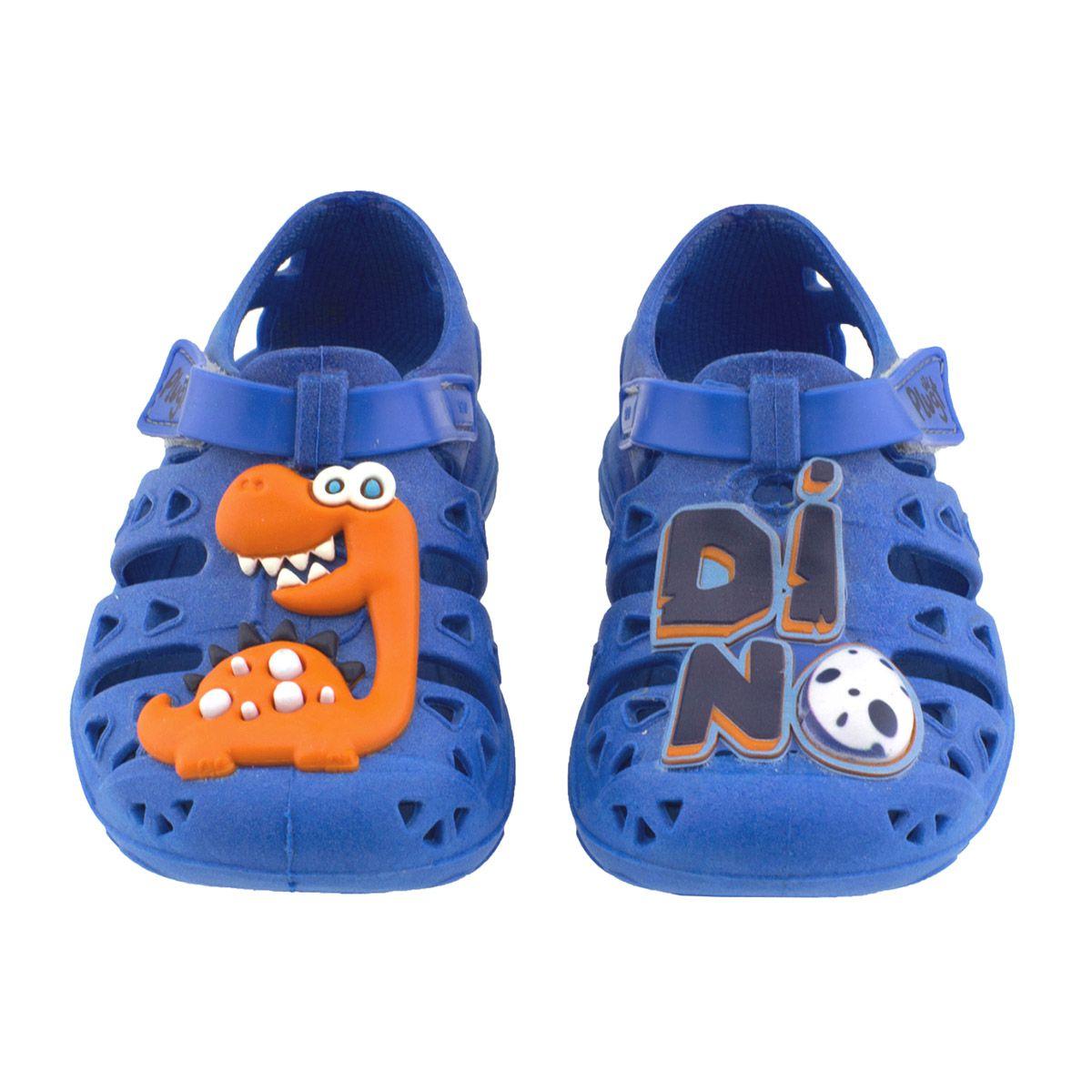 Babuche Plugt Dino Azul V