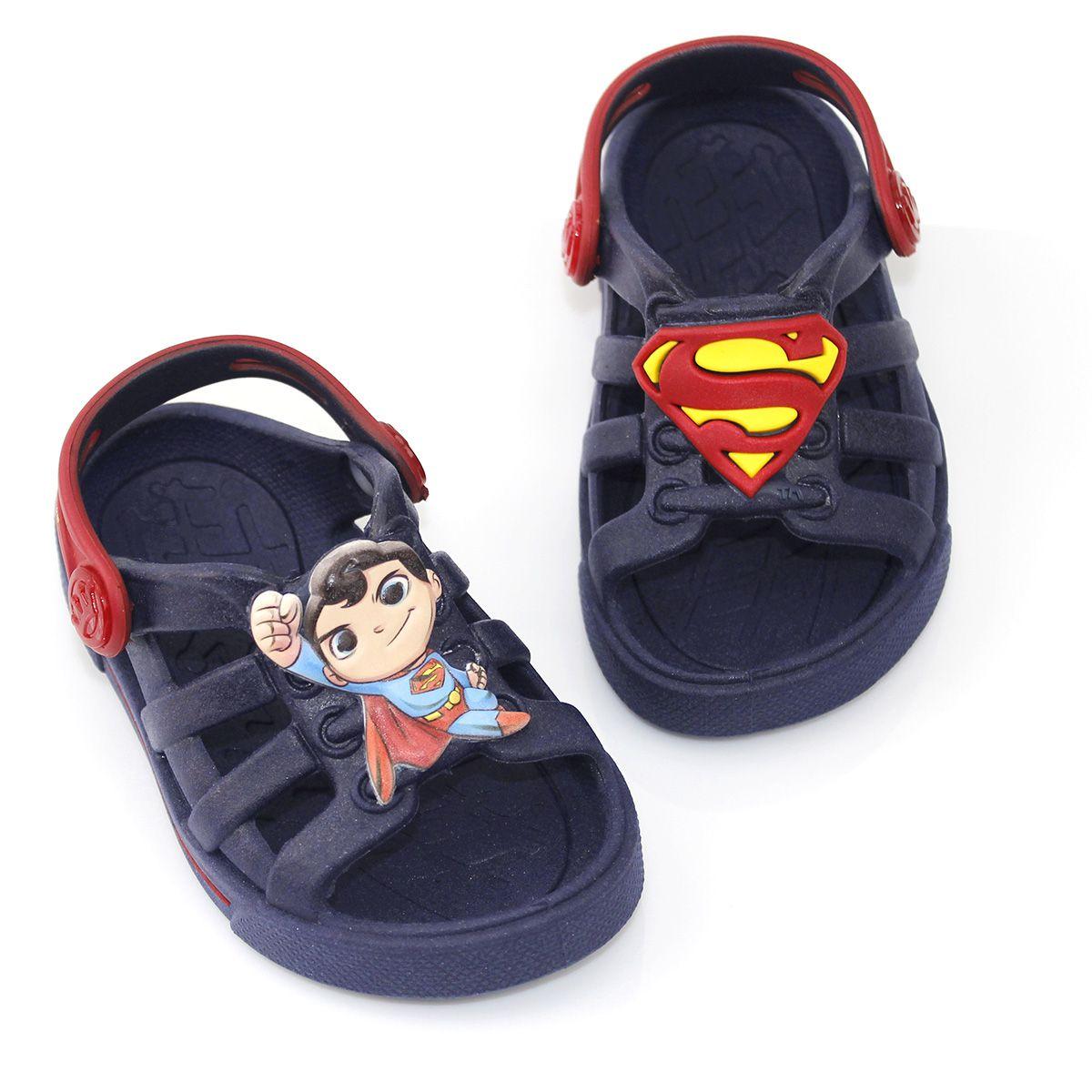 Babuche Plugt Dude Superman Infantil