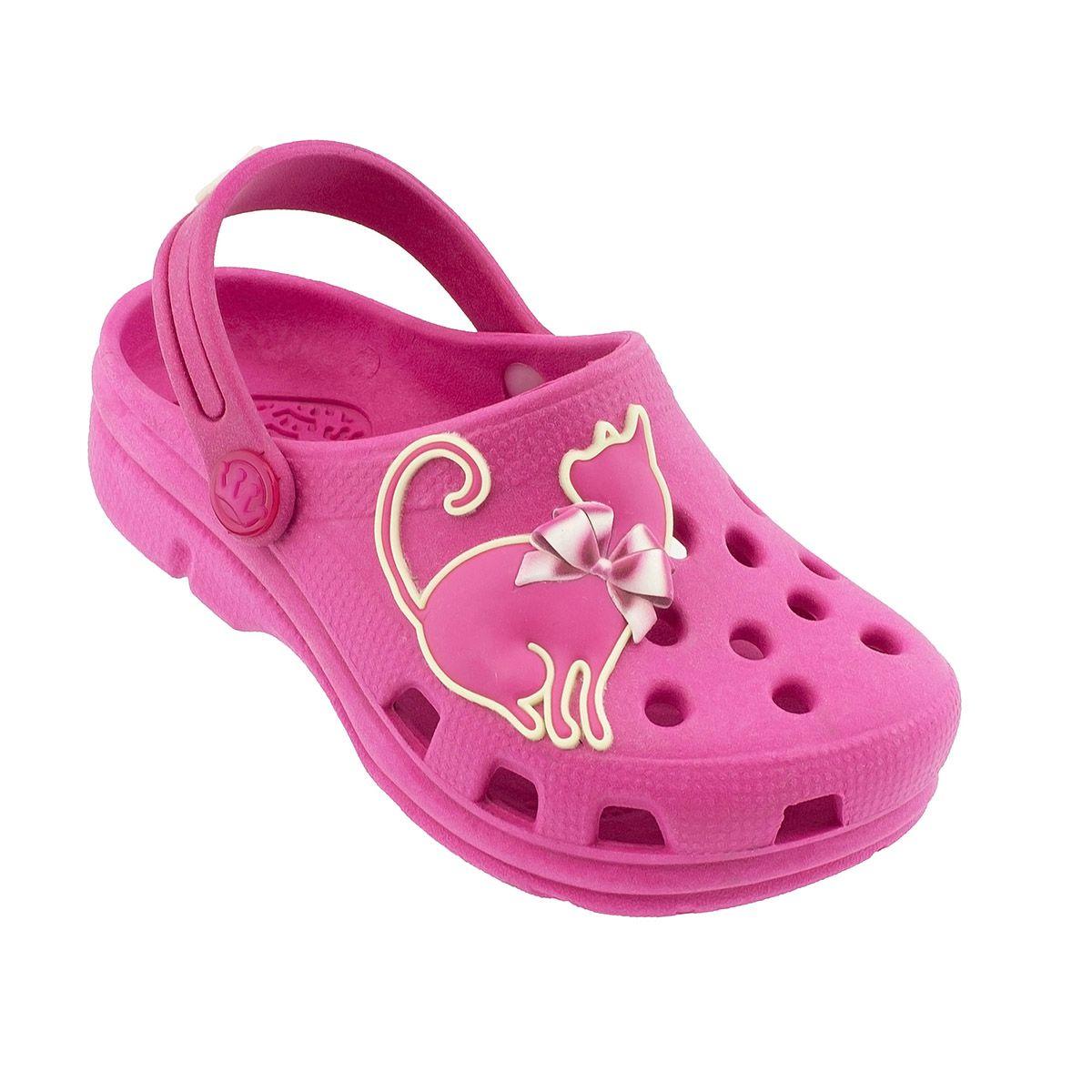 Babuche Plugt Gatinha Brilha no Escuro Pink