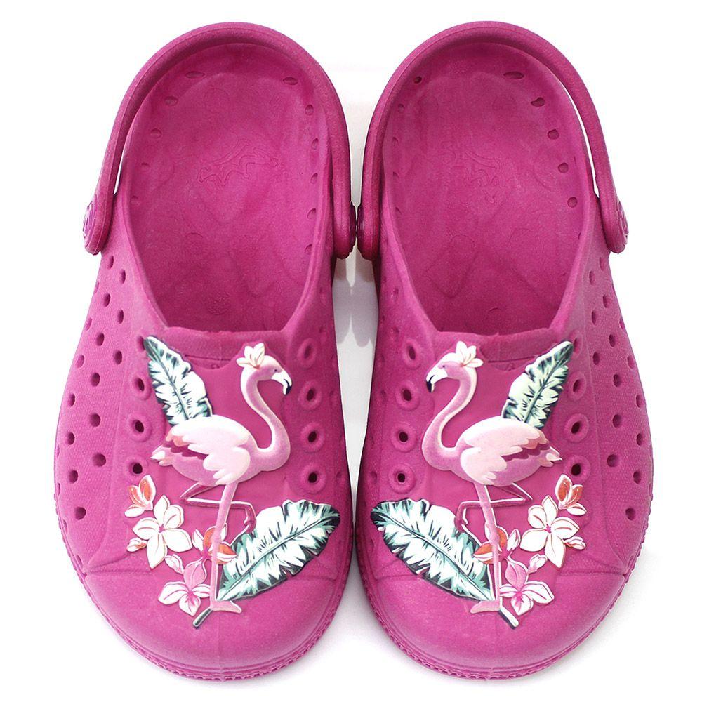 Babuche Plugt Joy Flamingo Pink