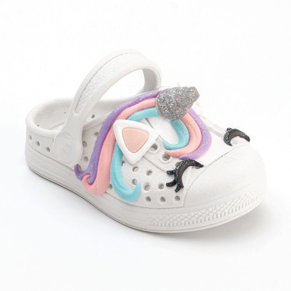Babuche Plugt Joy Unicórnio 3D Infantil