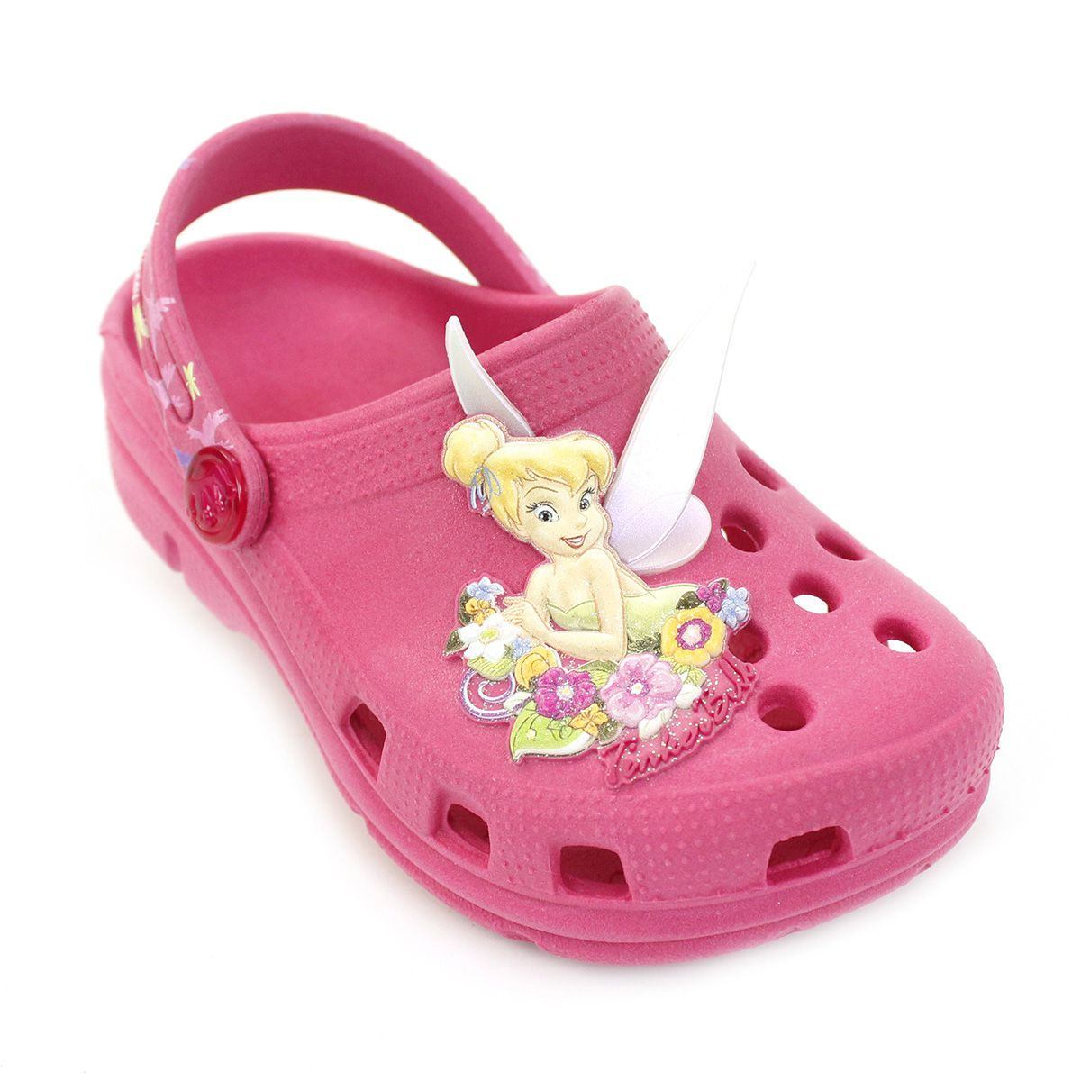 Babuche Plugt Sininho Disney Pink