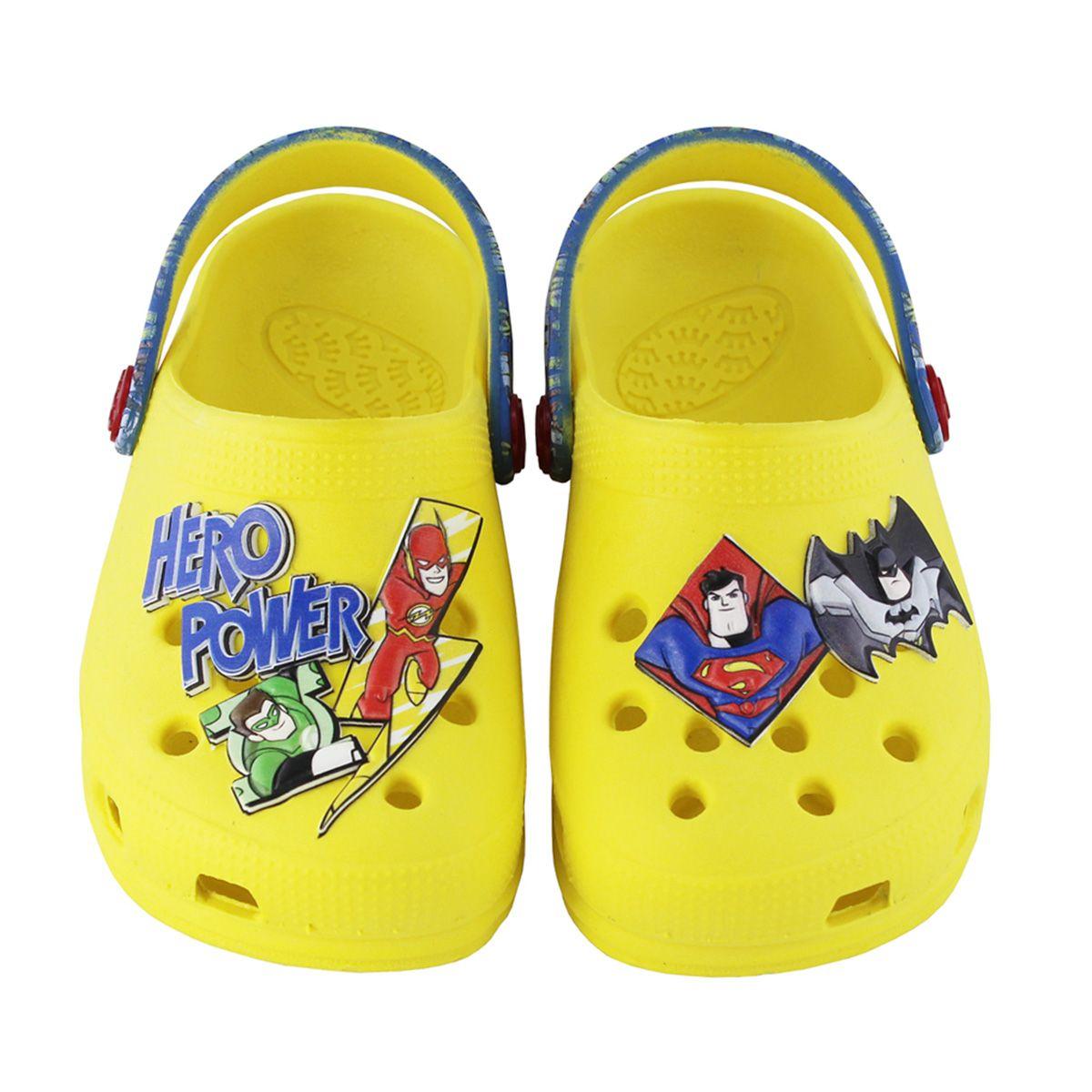 Babuche Plugt Super Heróis Infantil