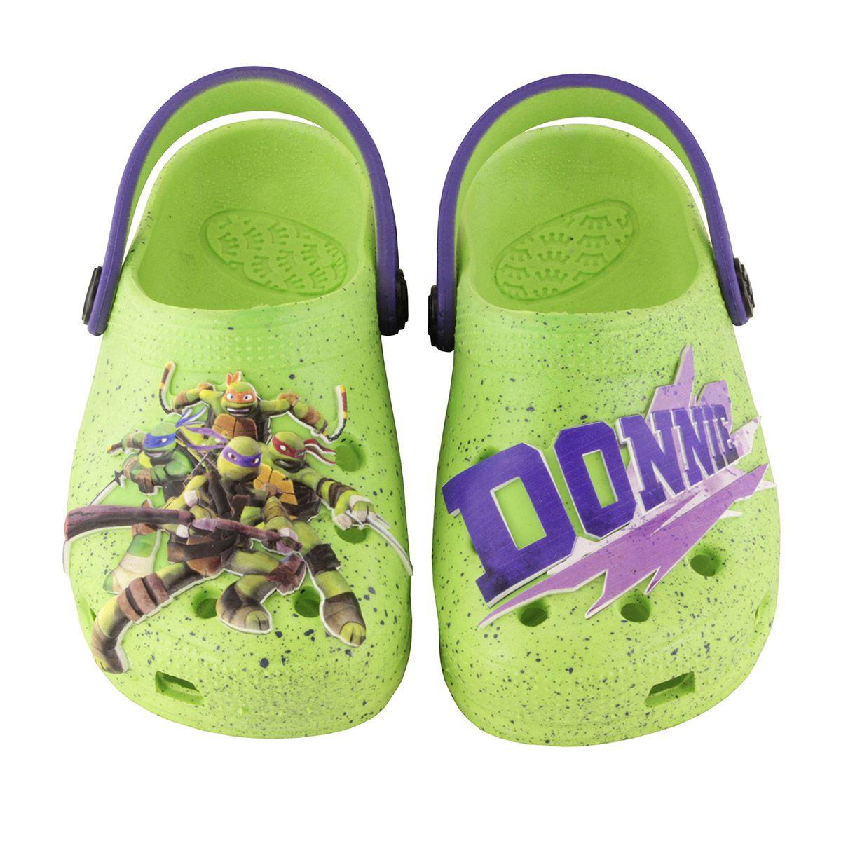 Babuche Plugt Tartarugas Ninja Donatello Verde
