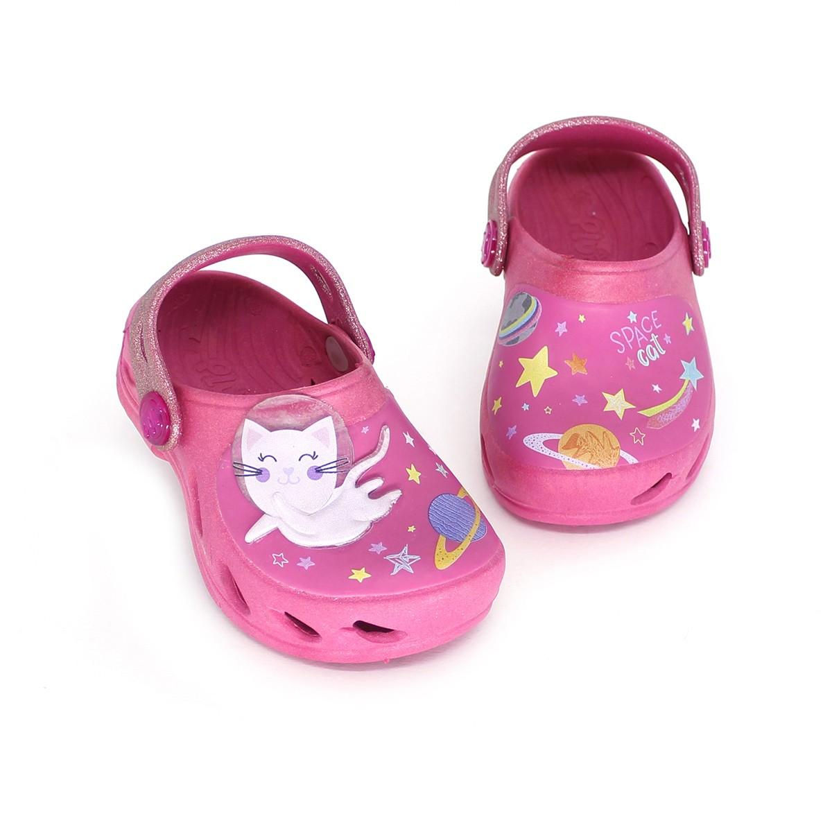 Babuche Plugt Ventor Baby Espacial Pink
