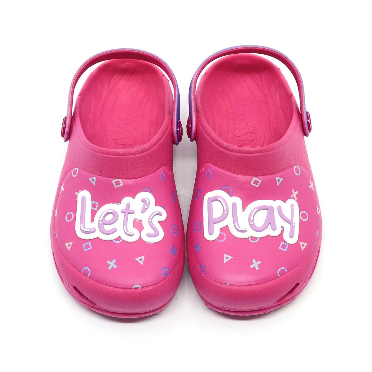 Babuche Plugt Ventor Kids Menina Gamer Pink