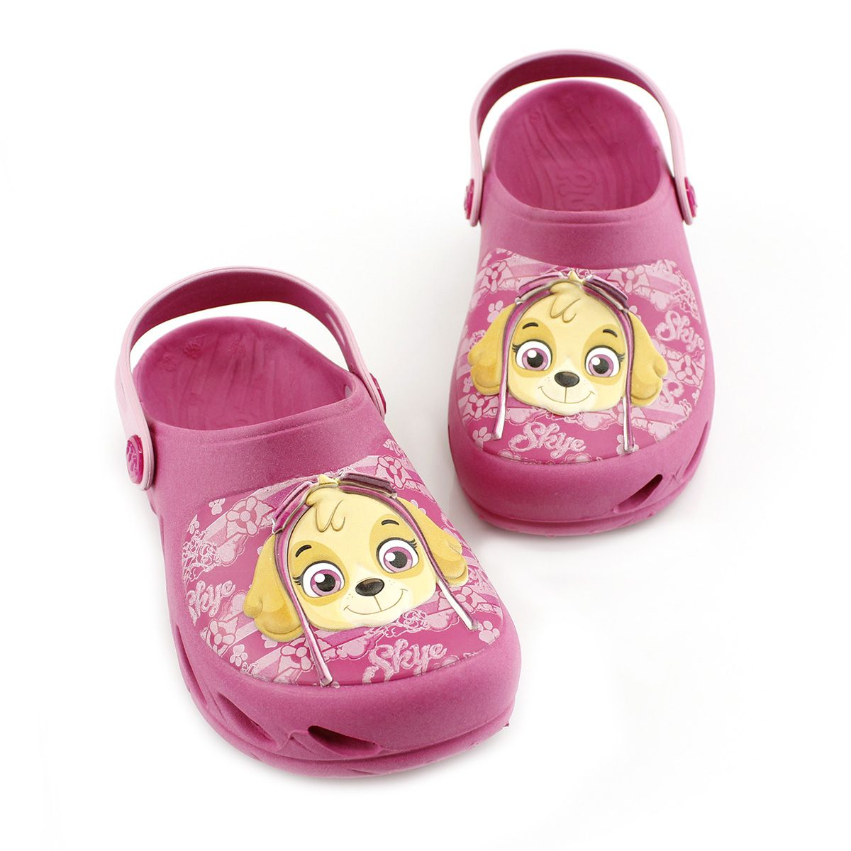 Babuche Plugt Ventor Kids Patrulha Canina Skye Pink