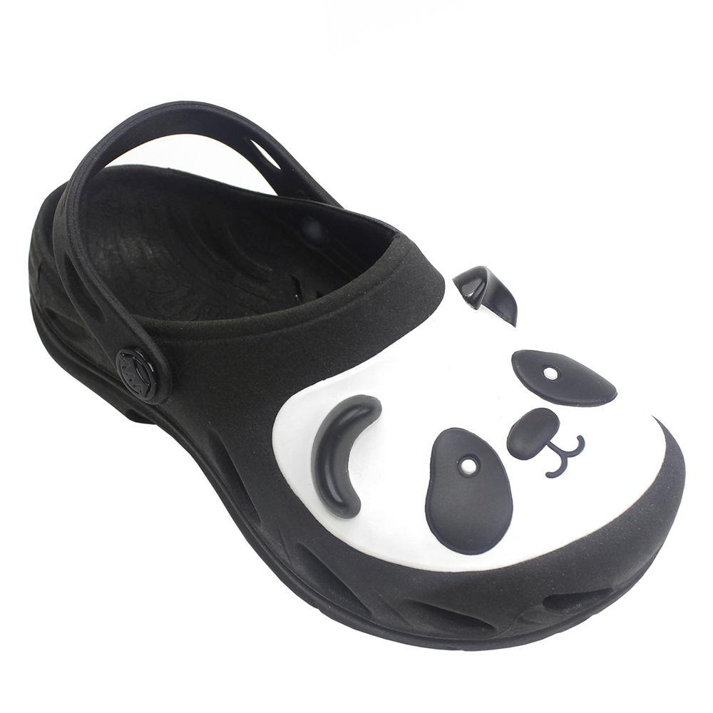 Babuche Plugt Ventor Panda Preto