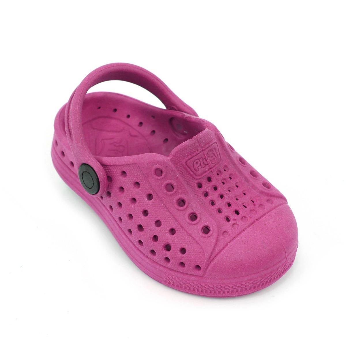 Babuche Sandália Plugt Joy Eco Liso Pink