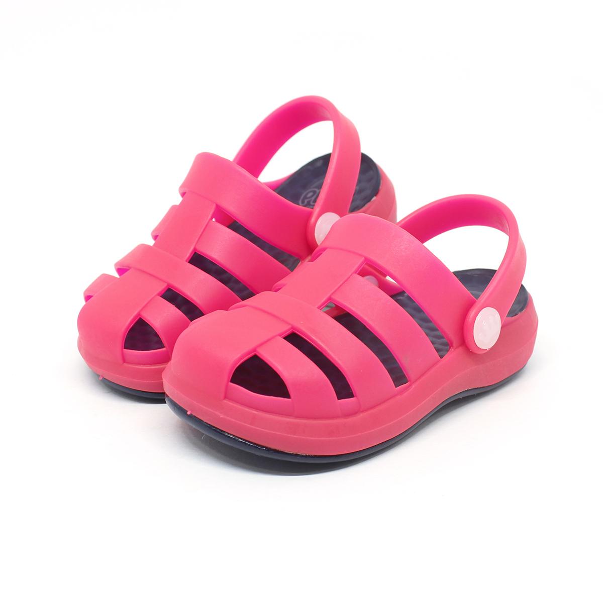 Babuche Sandália Plugt Pop Marinho/Pink