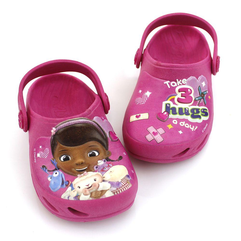 Babuche Plugt Ventor Doutora Brinquedos Disney Pink