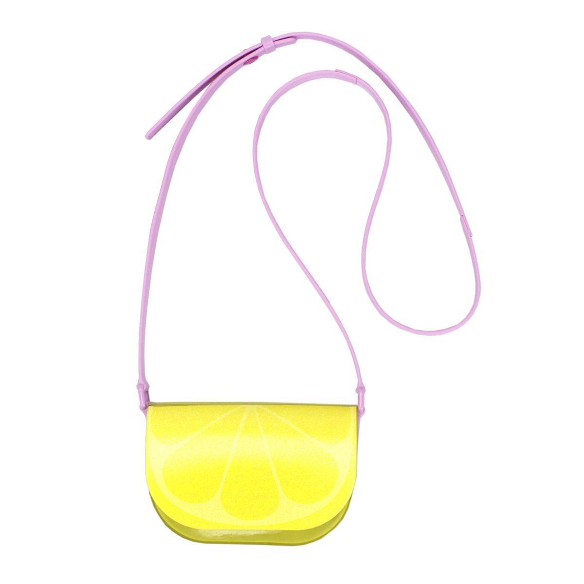 Bolsa Plugt Retangular Limão