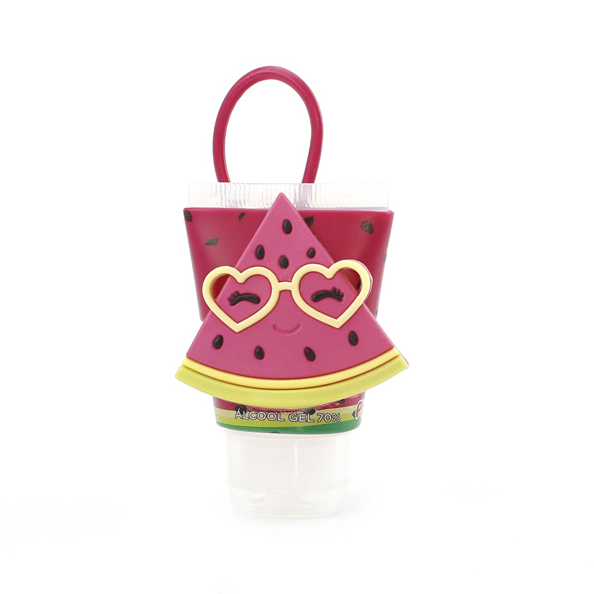 Chaveiro Plugt Melancia Pink + Frasco 30ml