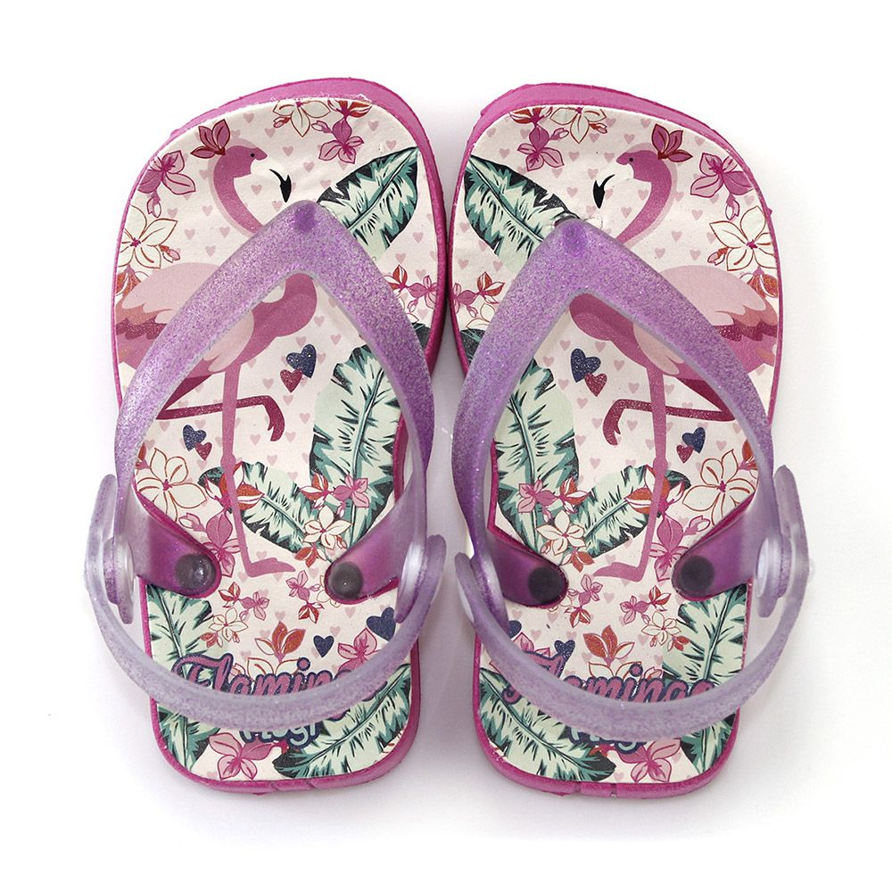 Chinelo Plugt Beach Flamingo